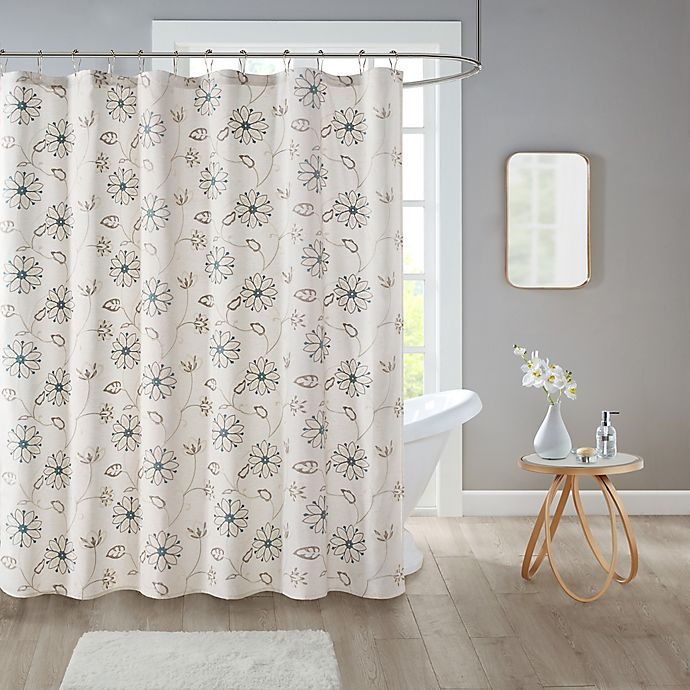 Alternate image 1 for Isabel Shower Curtain in Ivory