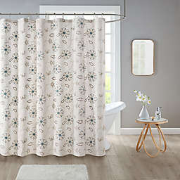 Isabel 72-Inch x 72-Inch Shower Curtain in Ivory