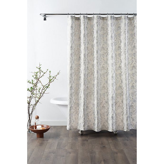 Croscill Mila Shower Curtain In Linen