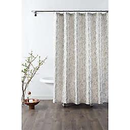 Croscill® Mila 72-Inch x 72-Inch Shower Curtain in Linen