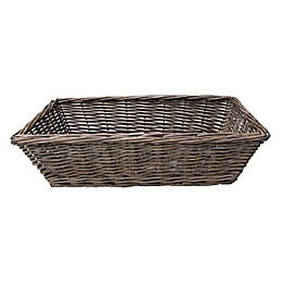 Bee & Willow™ Home Wicker Bread Basket in Grey