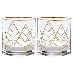 kate spade new york Spruce Way Double Old Fashioned Glasses (Set of 2)