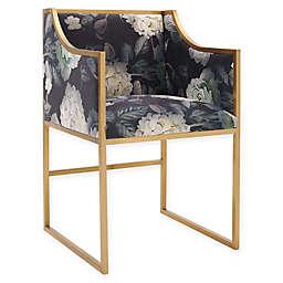 Tov Furniture™ Velvet Upholstered Atara Chair in Floral