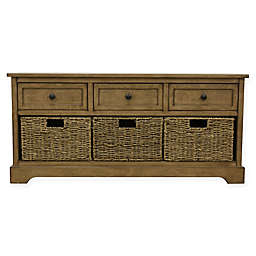 Decor Therapy® Montgomery Storage Bench with Removable Baskets