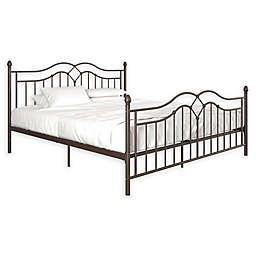 EveryRoom Selene King Bed Frame in Bronze