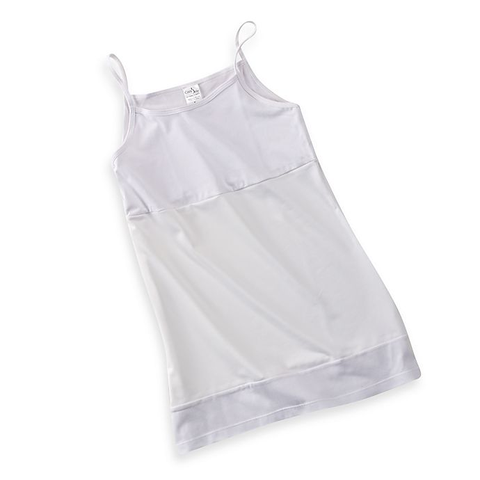 Alternate image 1 for CozyBelly Original Cozy Tank in White