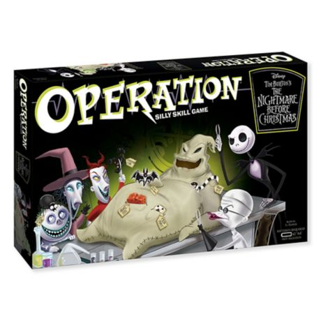 THE NIGHTMARE BEFORE CHRISTMAS OOGIE BOOGIE OPERATION GAME