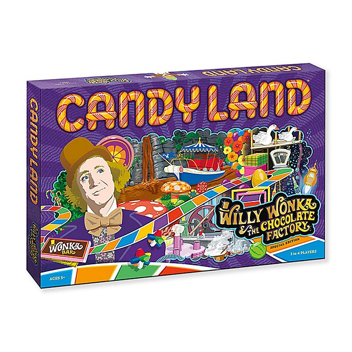 Alternate image 1 for CANDYLAND®: Willy Wonka & The Chocolate Factory™