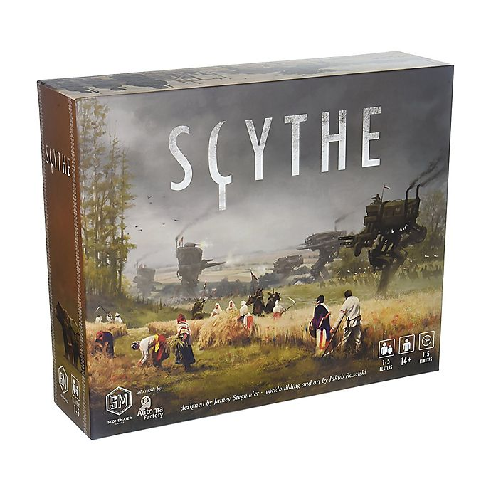 Alternate image 1 for Scythe Board Game