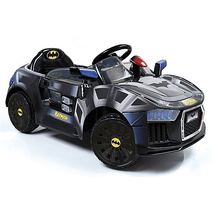 Alternate image 1 for Hauck Batmobile 6-Volt Electric Ride-On