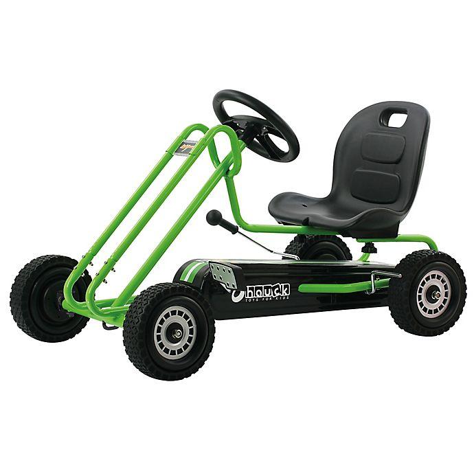 Alternate image 1 for Hauck Lightning Ride-On Pedal Go-Kart in Green
