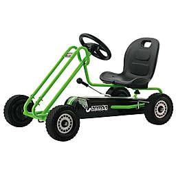 Hauck Lightning Ride-On Pedal Go-Kart in Green