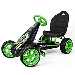 Hauck Sirocco Pedal Ride-On Go-Kart in Green