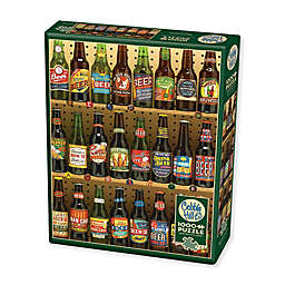 Beer Collection 1000-Piece Jigsaw Puzzle with Poster