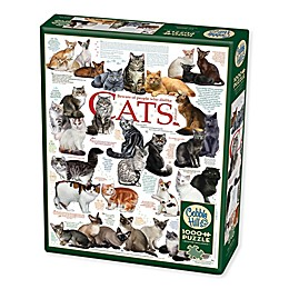 Cat Quotes 1000-Piece Jigsaw Puzzle with Poster