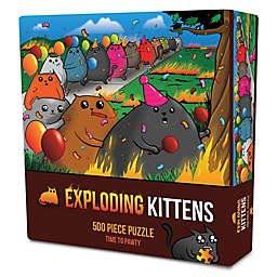 Outset Media 500-Piece Exploding Kittens: Time to Pawty Jigsaw Puzzle