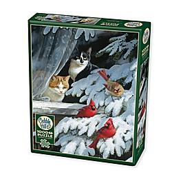Bird Watchers 1000-Piece Jigsaw Puzzle with Poster