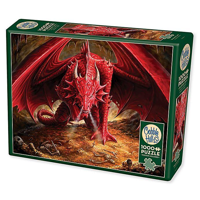 Alternate image 1 for Cobble Hill 1000-Piece Dragon's Lair Puzzle
