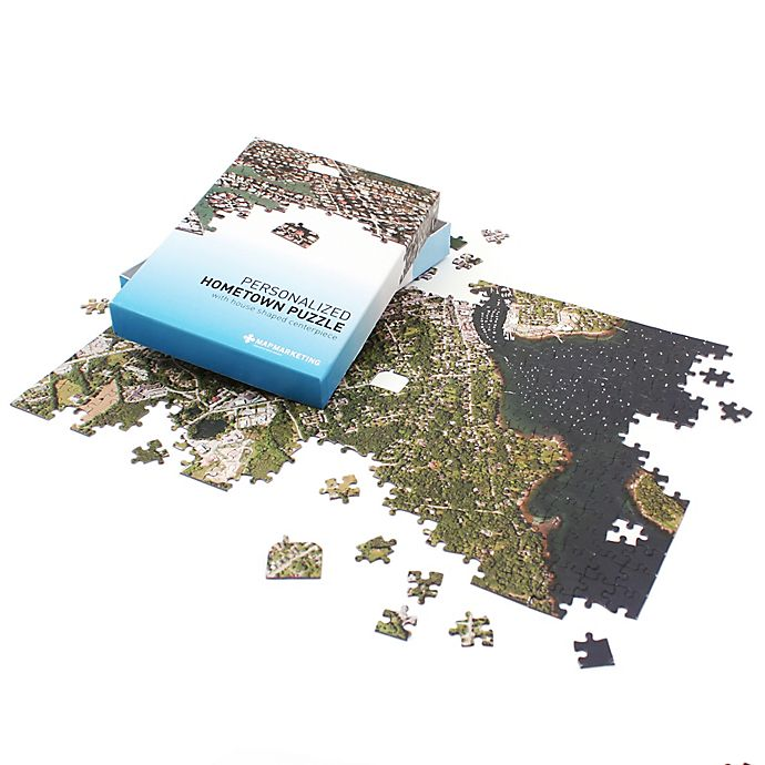 Alternate image 1 for Map Marketing 400-Piece Hometown Aerial Jigsaw Puzzle