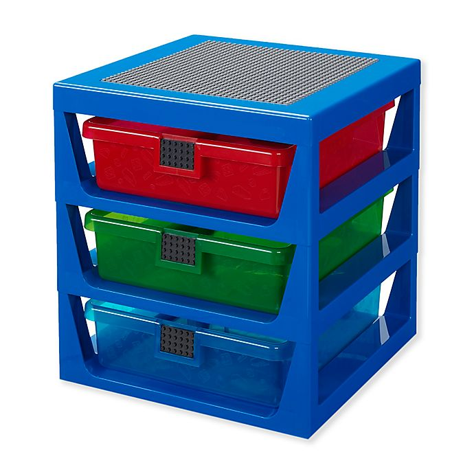 Alternate image 1 for Lego® 3-Drawer Storage Rack
