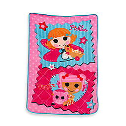 """Lalaloopsy™ """"One of a Kind"""" Fleece Blanket in Coral"""