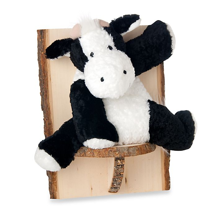 Alternate image 1 for Glenna Jean Carson Cow Wall Hanging in White/Black