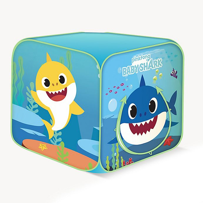 Alternate image 1 for Playhut® Pinkfong® Baby Shark Classic Cube Tent