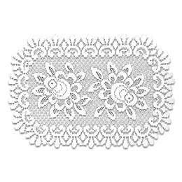 Heritage Lace® Rose Placemats