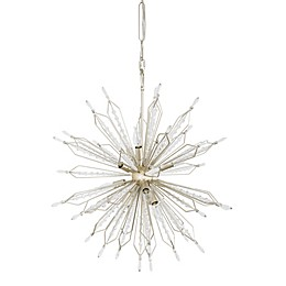 Varaluz Orbital 12-Light Pendant in Gold Dust