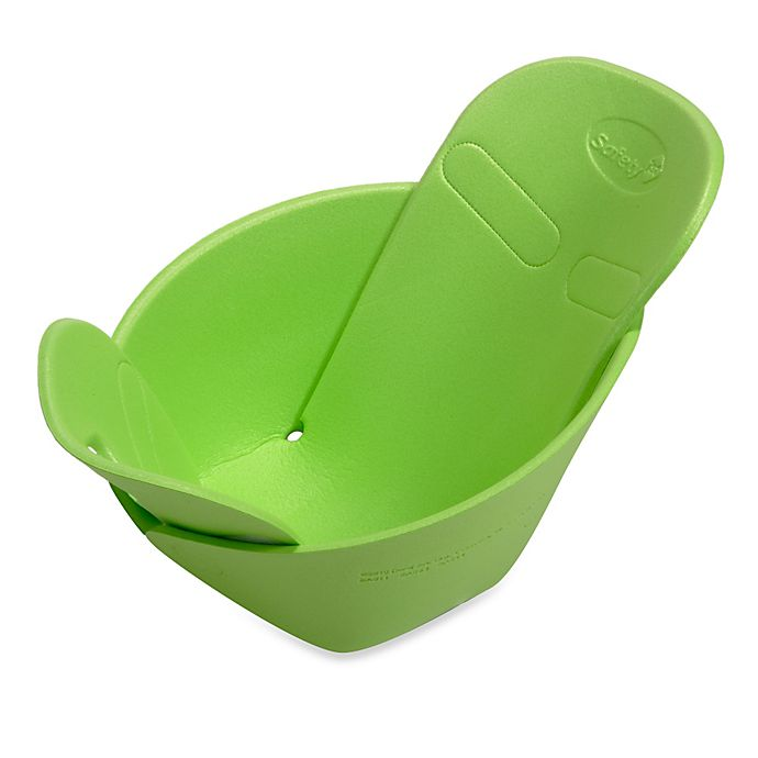 Alternate image 1 for Safety 1st® Sink Snuggler Baby Bather in Green