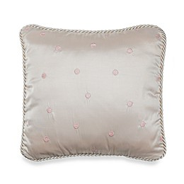 Glenna Jean Ava Dot Throw Pillow in Pink
