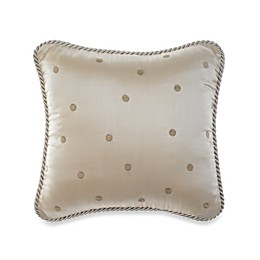 Glenna Jean Ava Dot Throw Pillow in Mocha