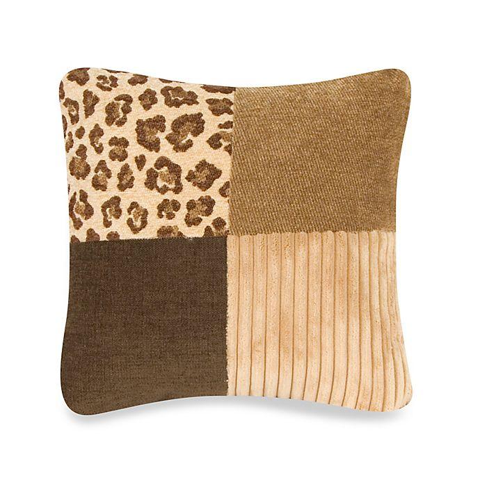 Alternate image 1 for Glenna Jean Tanzania Patchwork Throw Pillow