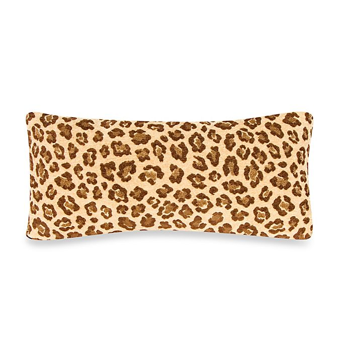 Alternate image 1 for Glenna Jean Tanzania Cheetah Print Rectangular Throw Pillow