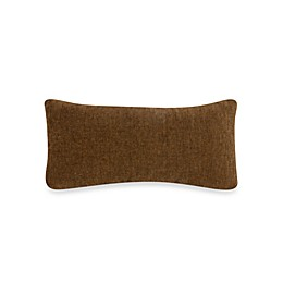 Glenna Jean Tanzania Rectangular Velvet Throw Pillow in Chocolate