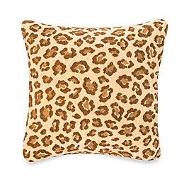 Glenna Jean Tanzania Cheetah Print Square Throw Pillow