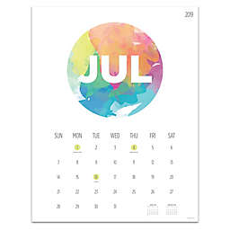 TF Publishing Paint Circle July 2019-June 2020 12-Month Calendar