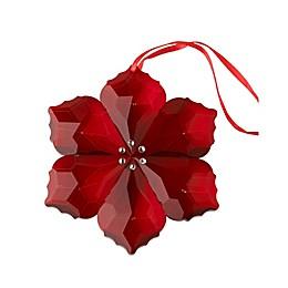 Villeroy & Boch Crystal Poinsettia Ornament