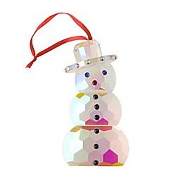 Villeroy & Boch Crystal Snowman Ornament