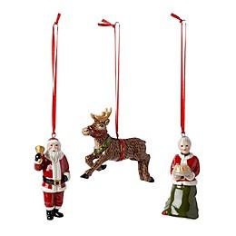 Villeroy & Boch 3-Piece Nostalgic North Pole Ornaments Set