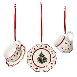 Villeroy & Boch Toys Delight 3-Piece Mini Tableware Ornaments Set