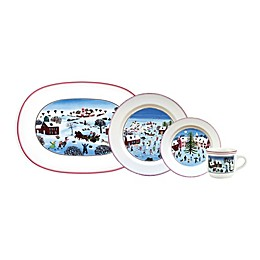 Villeroy & Boch Naif Christmas Dinnerware Collection in White