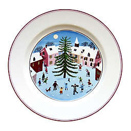 Villeroy & Boch Naif Christmas Salad Plate in White