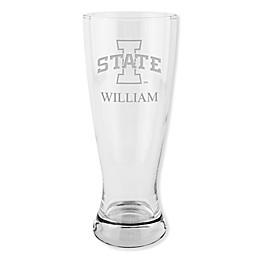 Iowa State University 20 oz. Etched Pilsner Glass