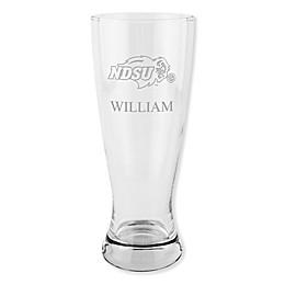 North Dakota State University 20 oz. Etched Pilsner Glass