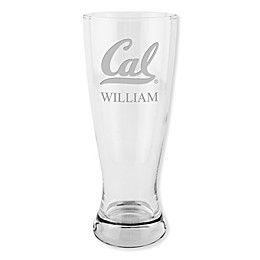 University of California, Berkeley 20 oz. Etched Pilsner Glass