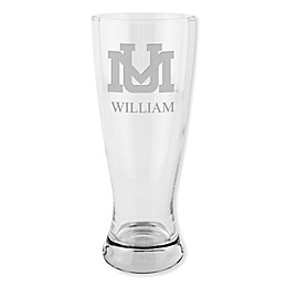 University of Montana 20 oz. Etched Pilsner Glass