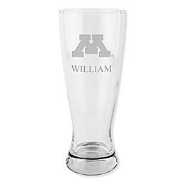University of Minnesota 20 oz. Etched Pilsner Glass