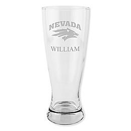 University of Nevada, Reno 20 oz. Etched Pilsner Glass
