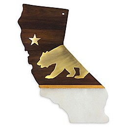 Totally Bamboo Rock & Branch 14.25-Inch California Serving Board